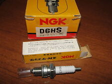 """NOS NGK#D6HS Vintage Small Engine,Cycle,Chain Saw,Boat 12mm 1/2""""Reach Spark Plug"""