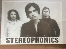 Stereophonics Vintage Rock Promo Music Poster Memorabilia