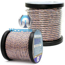 2 MONSTER CABLE 100 FOOT ROLLS = 200 FEET SPEAKER WIRE HOME THEATER OR CAR AUDIO