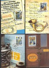 SWEDEN 1980-86 TEN FDC's STAMPS & BOOKLETS ON COVERS POST CARDS WITH BROCHURE