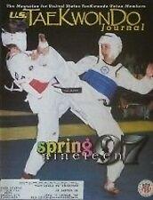 SPRING 1997 TAEKWONDO JOURNAL BLACK BELT KARATE KUNG FU MARTIAL ARTS