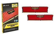 CORSAIR Vengeance LPX 16GB (2 x 8GB) 288-Pin DDR4 2400 (PC4-19200) Desktop [RED]