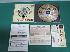 PlayStation -- Neo ATLAS -- PS1. Spine. JAPAN. GAME. Clean & work fully. 19712