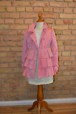 I PINCO PALLINO Traumhafter Trenchcoat Mantel Jacke rosa pink Gr.8/128