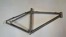 """Telaio bici MTB titanio Saccarelli 18"""" titanium bike frame mountain bike"""
