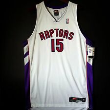 100% Authentic Vince Carter Nike Raptors NBA Pro Cut Home Jersey Size 50 XL