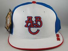 Atlanta Black Crackers Negro League Headgear Size 7 3/4 Fitted Hat White Royal