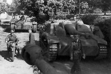 WWII Photo German Stug III Assault Gun in Italy WW2 B&W World War Two/ 4109
