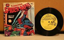 The Amazing Spiderman 33 rpm Record Power Records