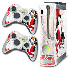 Skin Decal Wrap for Xbox 360 Original Gaming Console & Controller Xbox360 HOOCH