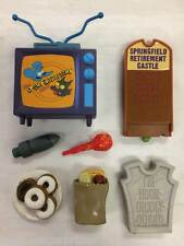 The Simpsons Accessory and Parts Lot Playmates