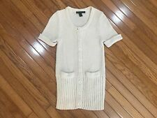 MARC BY MARC JACOBS Wool Blend Button Down Two Pocket Sweater / Blouse Size M