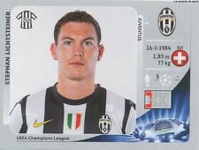 N°342 LICHTSTEINER #  SWITZERLAND JUVENTUS CHAMPIONS LEAGUE 2013 STICKER PANINI
