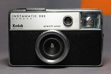 Vintage Kodak Instamatic 333 Camera with Case & Strap