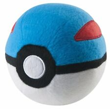"Official  TAKARATOMY  Pokemon Go Plus X & Y Pokeball Plush Doll - 4"" Great Ball"