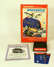 Intellivision boxed game Space Battle  CIB Tested & Working