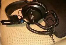 "Vintage Sony DR-S3 Dynamic Ear Cup Stereo Headphones-Work Perfectly - 1/4"" Jack"