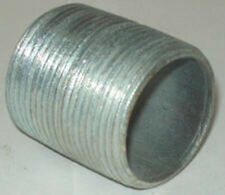 1-1/4 x Close Galvanized Pipe Nipple Lot Of 20 Each