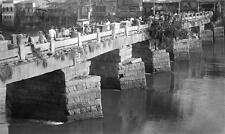Photo. 1912. Fuzhou, Fujian, China.  Bridge