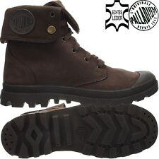Palladium Baggy Leather Gusset Herrenstiefel braun Boots Stiefeletten  Gr.41