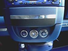 Smart fortwo 450 / 1 Stück Alu-Ring Innenlichtschalter in poliert oder gebürstet