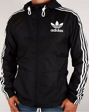 Cheapest on ebay Adidas Originals Windbreaker Black Trefoil Size Medium RRP £55