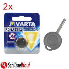 2x VARTA Autoschlüssel Batterie für Mitsubishi Carisma Colt Space Star Smart 454