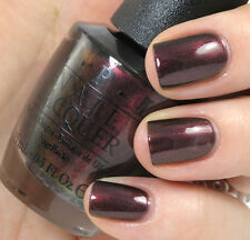 OPI NAIL POLISH Lacquer MUIR MUIR ON THE WALL ~ Plum duo-chrome shimmer