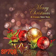Christmas 10'x10' Computer-painted Scenic Photo Background Backdrop SP708B881