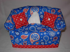 COUCH SOFA TISSUE BOX COVER - PEPSI