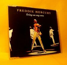 MAXI Single CD Freddie Mercury Living On My Own 4TR 1993 Euro House Queen !