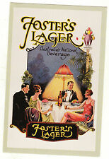 NOSTALGIA POSTCARD - FOSTER'S LAGER - FASHIONS OF THE 20's - SET 29