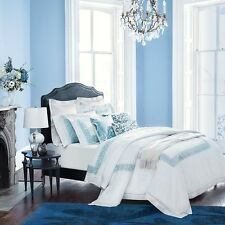 SFERRA Bedding 5720 Adriatico Cotton Percale FULL QUEEN Duvet Cover $642 B1246