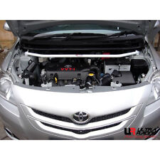 ULTRA RACING 2 POINTS(1 Hole)  TOYOTA VIOS (2007)/ YARIS (OLD) FRONT STRUT BAR