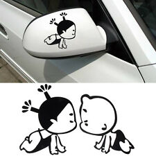 Cute Child Design 3D Decoration Sticker For Car Side Mirror Rearview Hot Sale