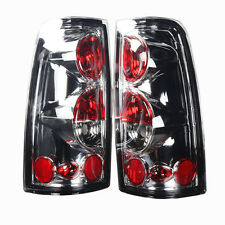 Tail Light For 99-06 Chevy Silverado Chrome / Clear Lens PAIR
