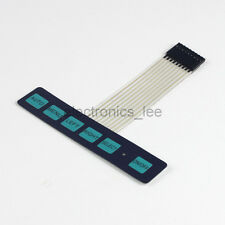 1x6 Matrix Array 6 Key Membrane Switch Keypad with LED