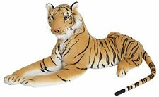 New Extra Large Brown Tiger Soft Cuddly Toy150cm Soft Toy Plush Massive Uk