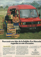 Publicité Advertising 1984  Mercedes Benz Utilitaires  MERCEDES 307 D