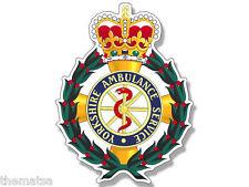 "4"" YORKSHIRE AMBULANCE SERVICE BADGE CREST HELMET BUMPER STICKER DECAL USA MADE"