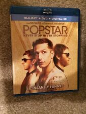 Popstar:Never stop never stopping bluray 1 Disc Set(No Digtal HD)