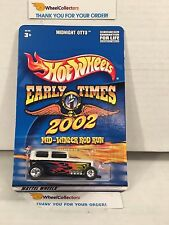 Midnight Otto * WHITE * Early Times Rod Run * Hot Wheels w/Real Riders * H55