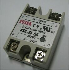 SOLID STATE RELAY DC-AC SSR-25DA 25A 250V 3-32VDC For Temperature Controller TF