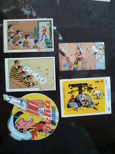 Lot de 5 autocollants Lucky Luke (MORRIS) ... voir descriptif