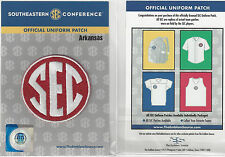 Arkansas SEC Conference Jersey Uniform Patch 100% Official College Football Logo