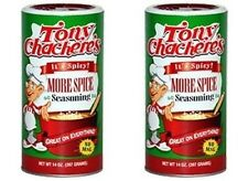 2 PK GIGANTIC TONY CHACHERE'S MORE SPICE CAJUN SEASONING 1.5 LBS recipe