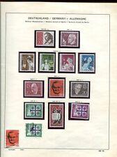 Berlin 1960 - 1990 ** + gest. in Schaubek Vordruckalbum