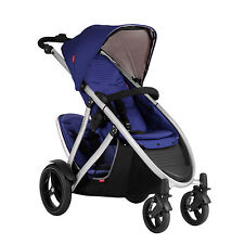 Phil & Teds New Verve Double V3 Stroller Cobalt Similar To Dot & Classic New!!
