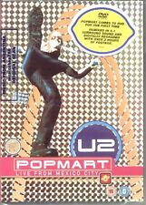 DVD U2 POPMART LIVE FROM MEXICO CITY SEALED POP MART