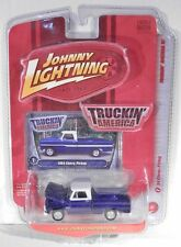 Johnny Lightning '64 Chevrolet Pickup Truck Purple (1964 1965 1966 Body Style)